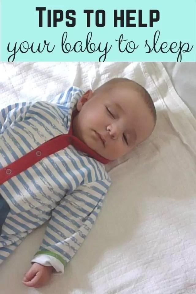 ways to help your baby to sleep - Bubbablue and me