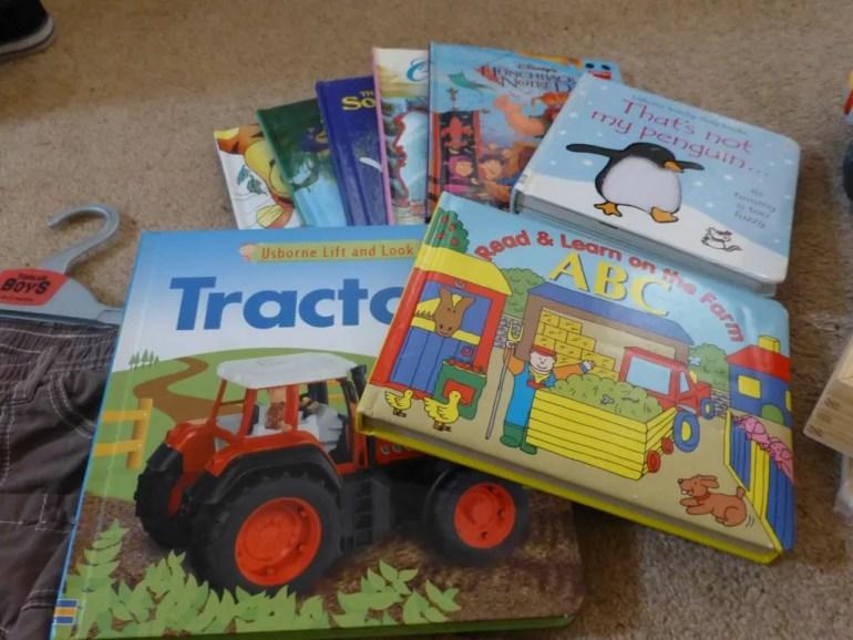 nearly new sale books