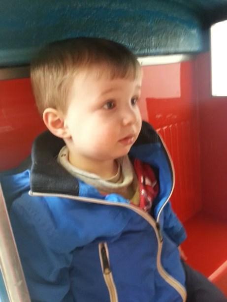 Thomas the tank engine ride