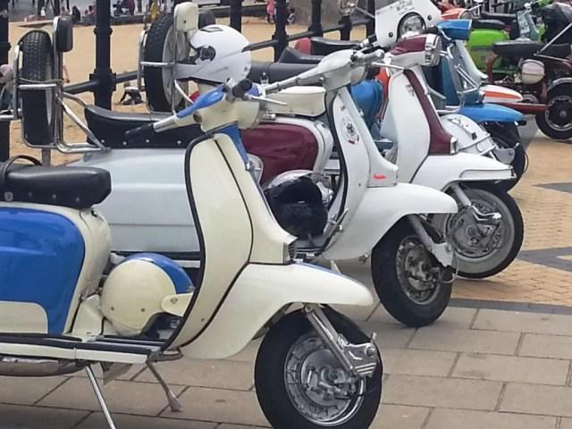 Vespas and Lambrettas