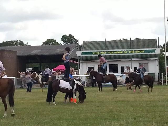 horseback tricks
