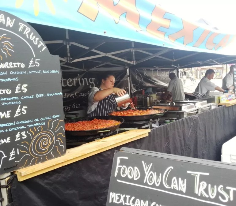 Mexican stall