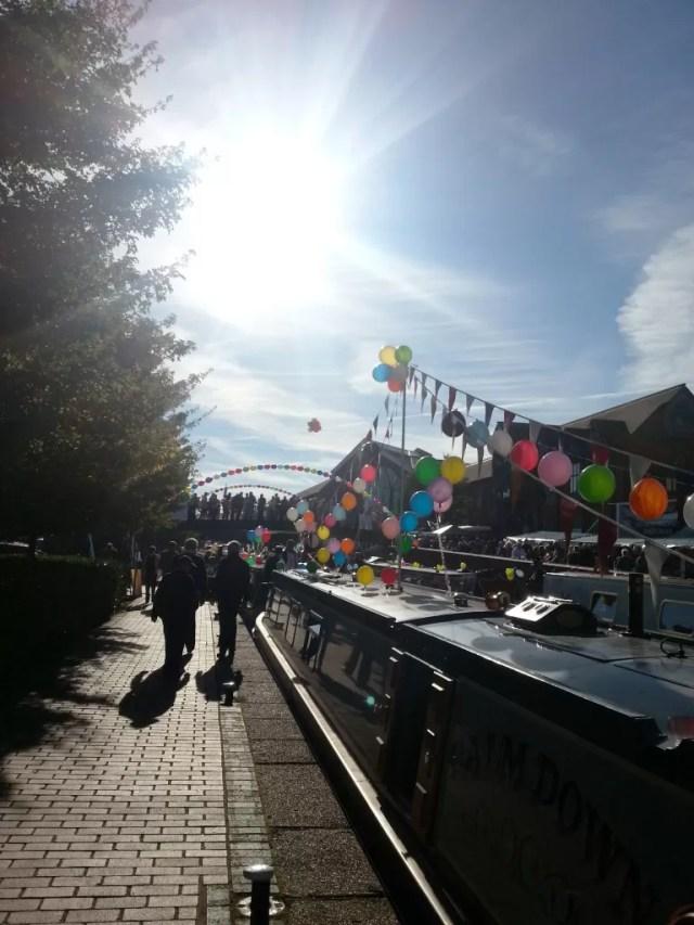 Banbury canal day