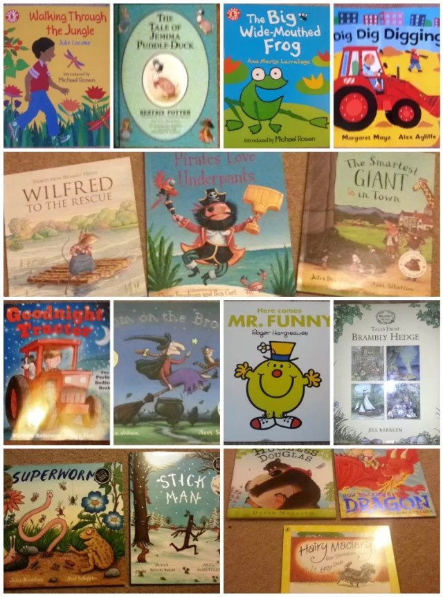 300 picture books challenge
