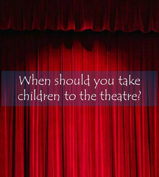 Theatre curtain title #sp
