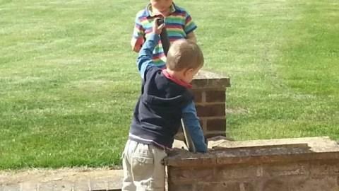 cousins playing