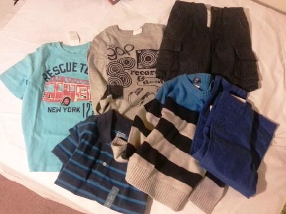 Gap boys clothes bargain