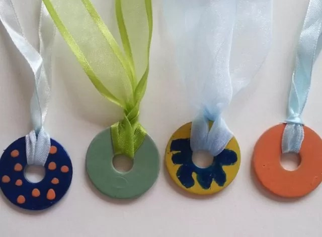 washer necklaces and medals