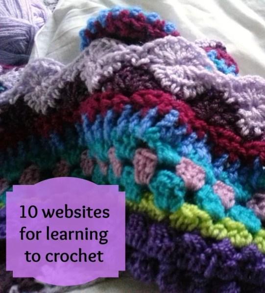 crochet websites tips