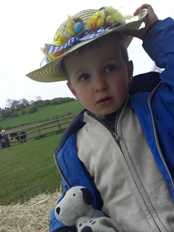 toddler easter bonnet