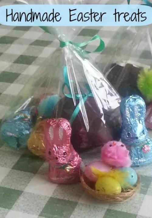 handmade easter egg treats- Bubbablue and me