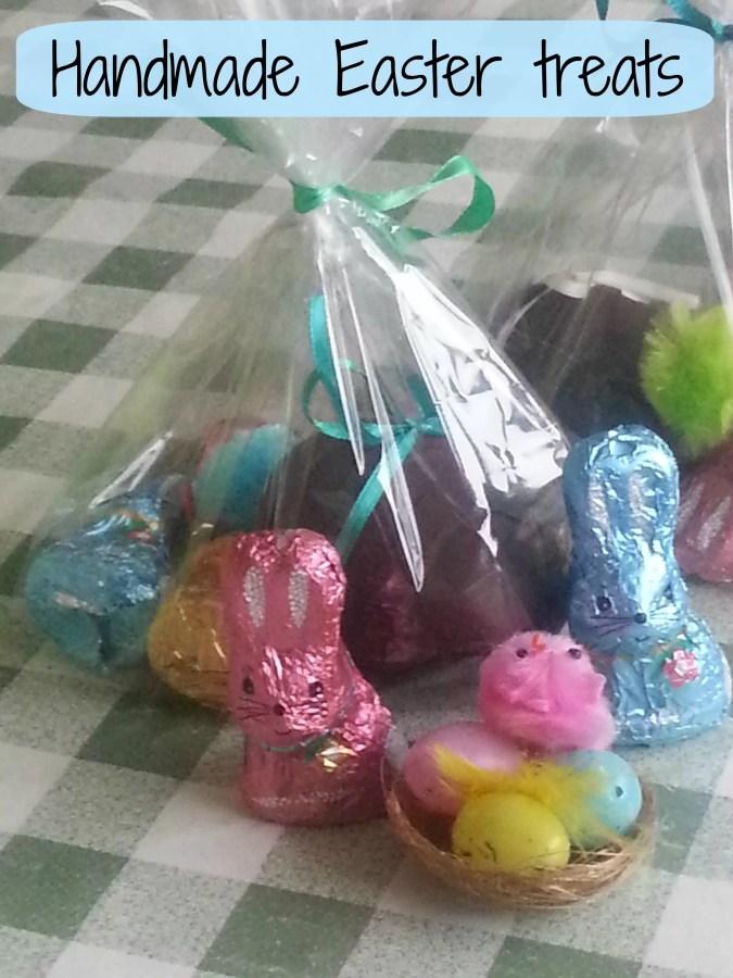 handmade easter egg treats