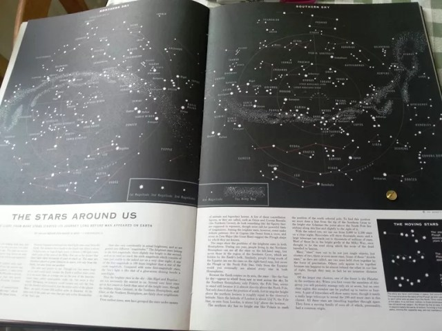 Readers Digest constellations