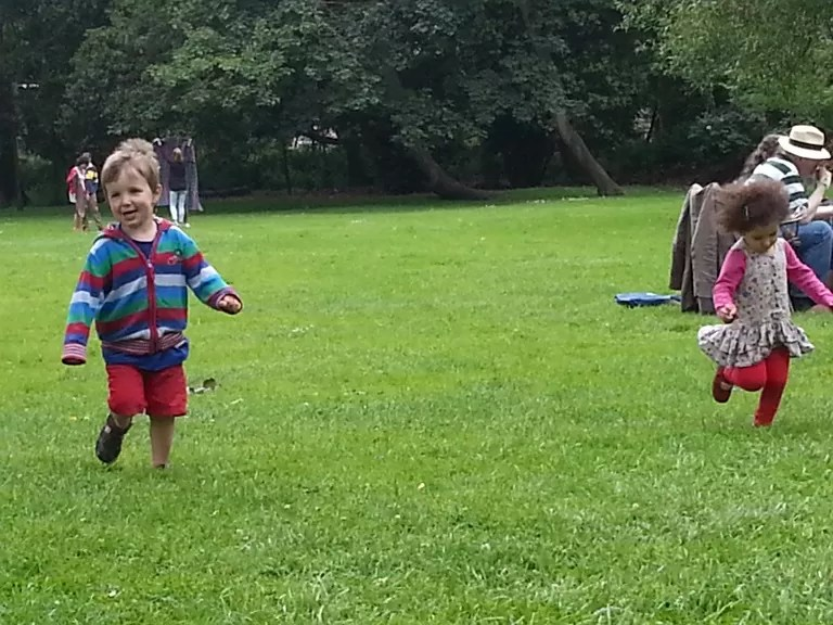 running wild in christ church meadows