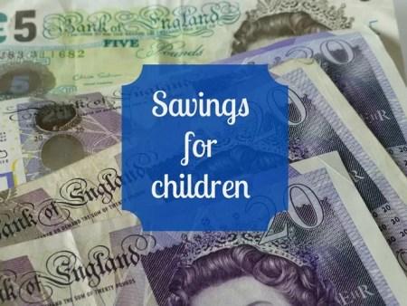 savings for children