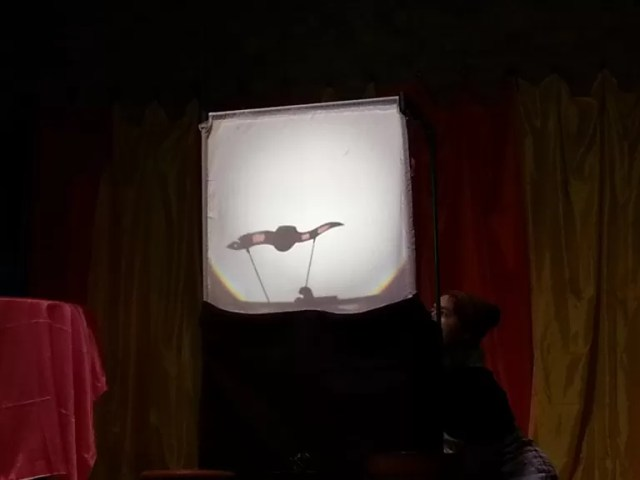 shadow puppet worm