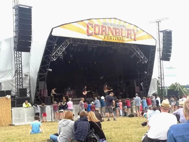 cornbury stage