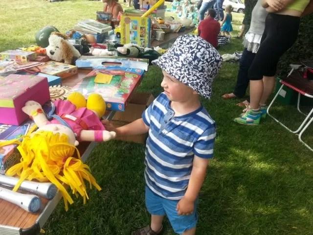 summer fete stall