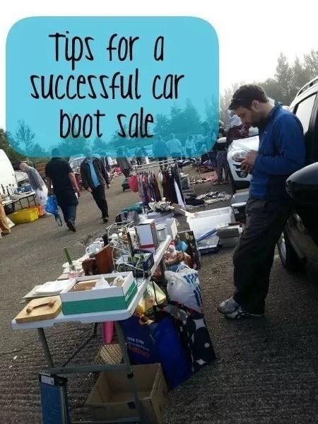 successful car boot sale tips