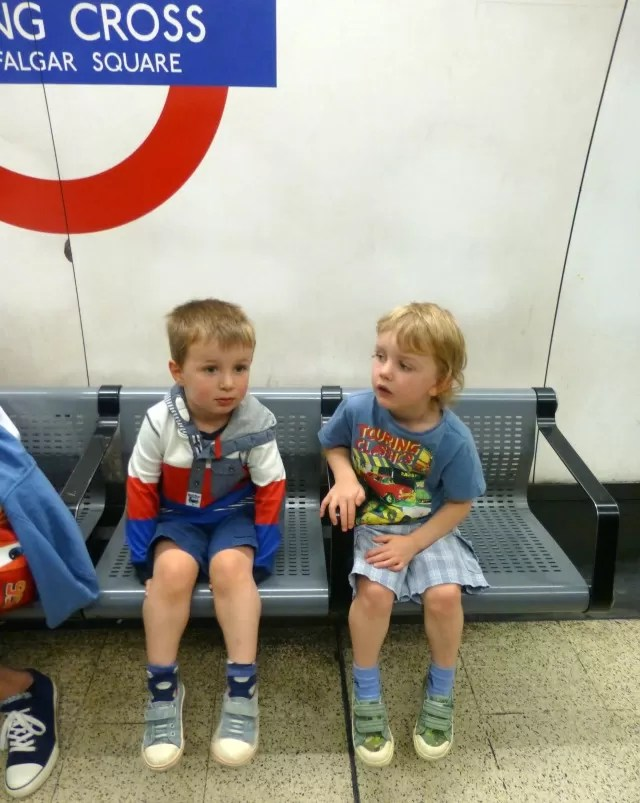 charing cross = waiting for the tube
