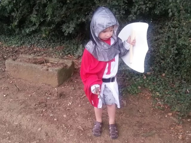 crusader costume toddler