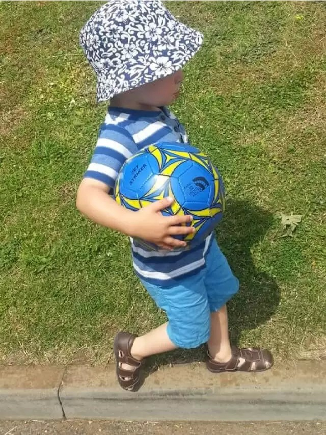 footballer..