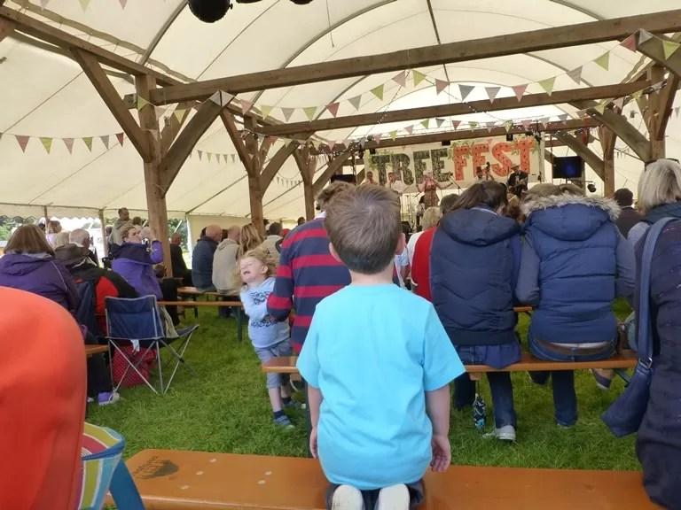treefest music tent - royal oak