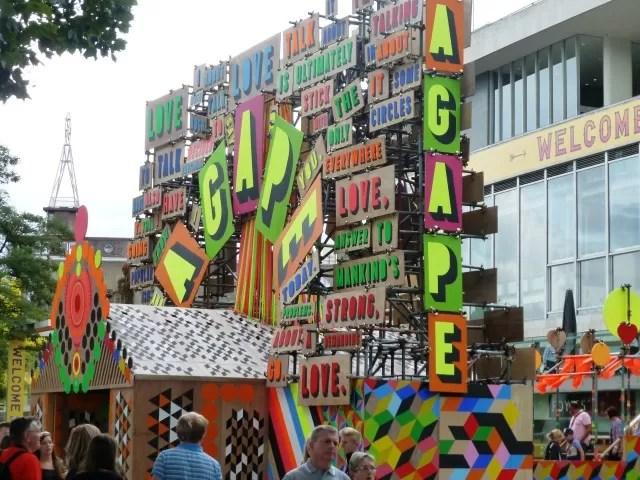 Southbank London love festival 2014