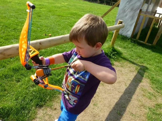 bow and arrow practise