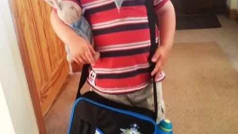 nursery school lunch box