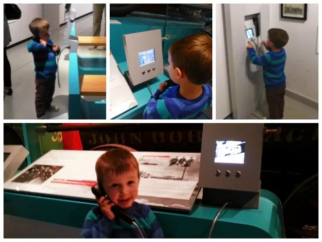 on the telephone at mshed bristol