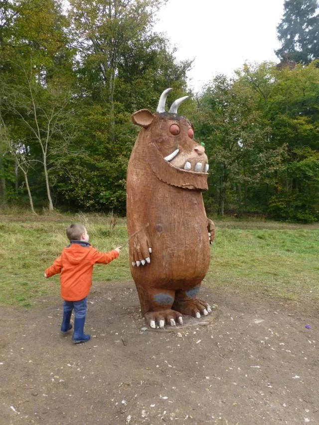 poking the Gruffalo at Wendover Woods