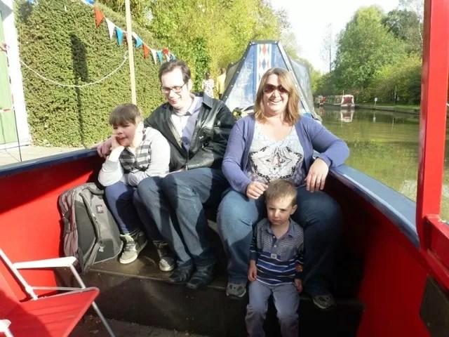 canal boat random pic