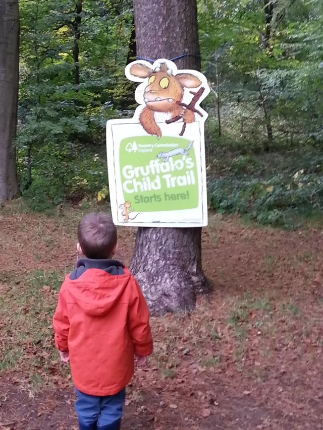 gruffalo's child trail