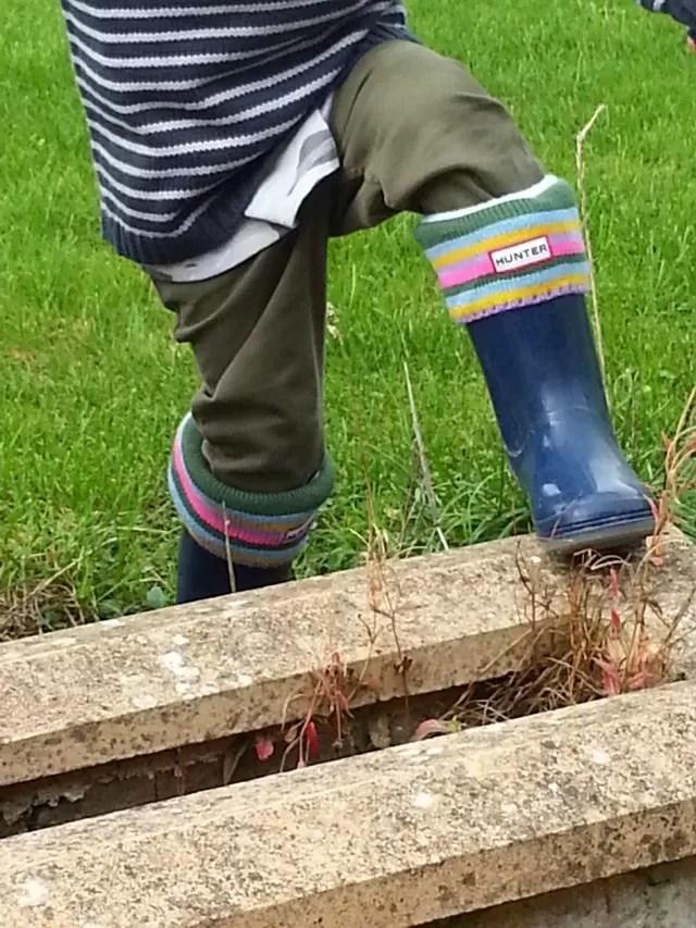 hunter welly socks childrens