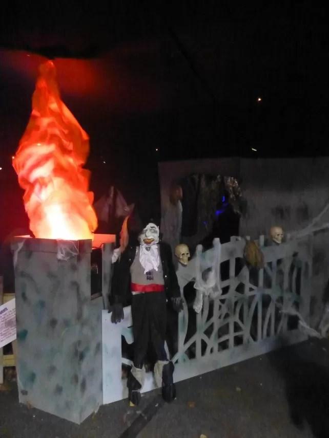 spooky halloween at hatton