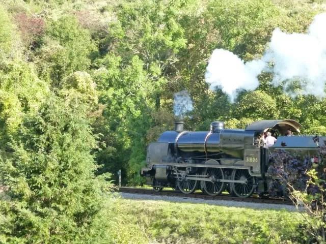 steam train at swanage c