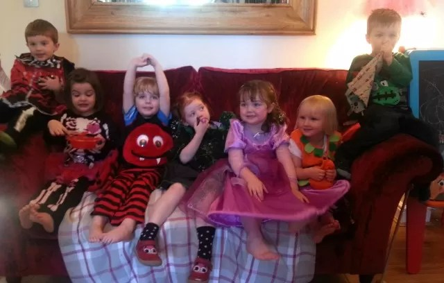 halloween costumes and NCT 3 year olds