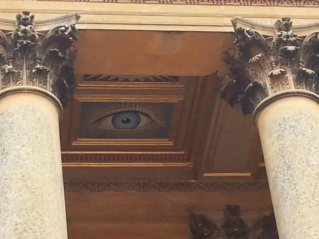 blenheim palace entrance eye