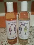 earth friendly kids shampoo and bodywash