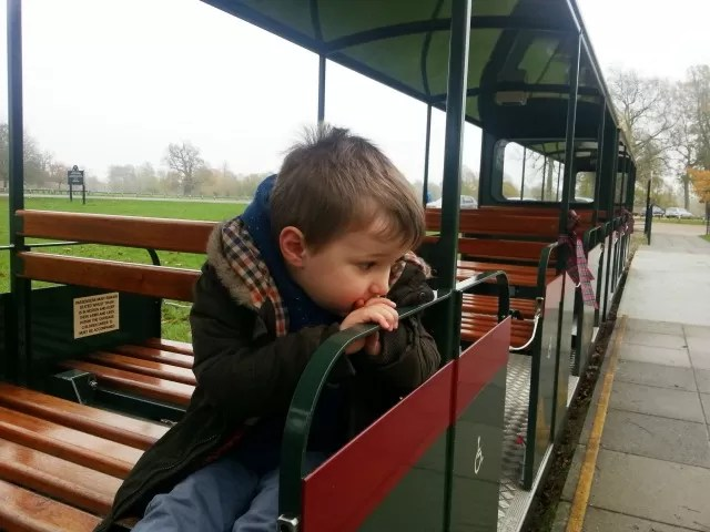 waiting for the train at blenheim to leave