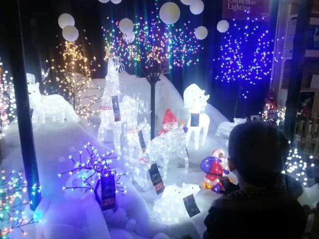 frosts garden centre christmas shop lights