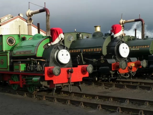 great western engines at Didcot Railway Centre