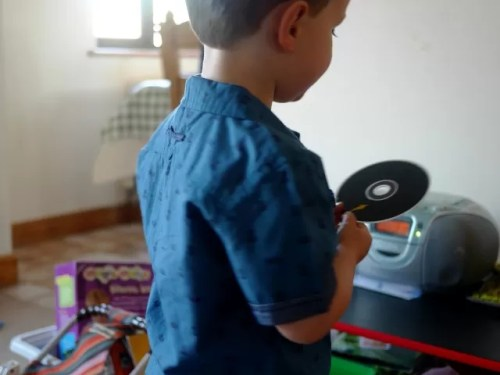 playing cds
