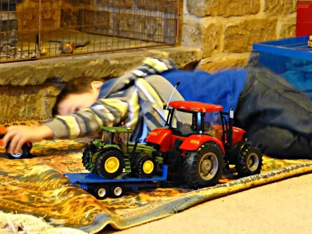 Britains tractor toys