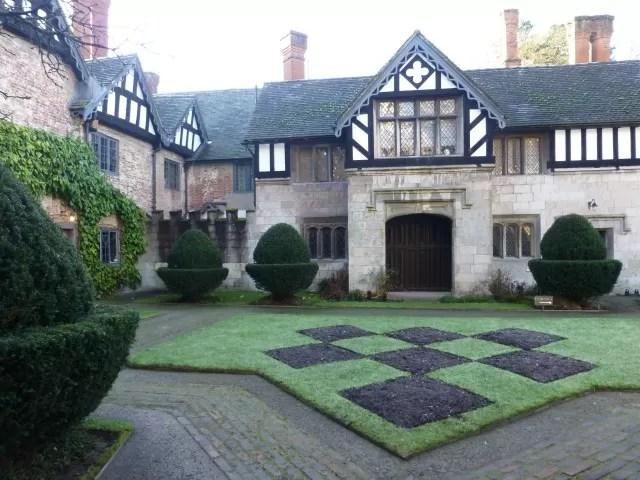 Courtyard at Baddesley Clinton
