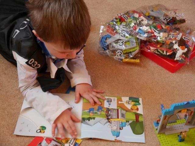 Lego castle - first Lego set