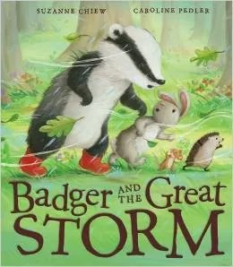 badger and the great storm book review