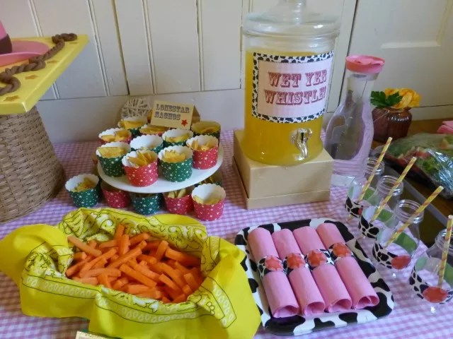 children's cowgirl party