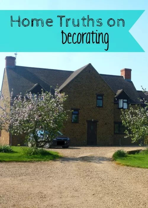 home truths on decorations  Bubbablueandme